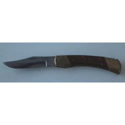 Couteau avec manche bois et métal GRAND MODELE