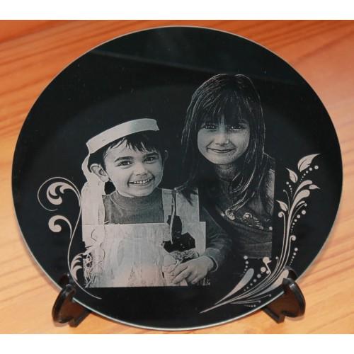 Reproduction photo sur miroir rond diamètre 150 mm
