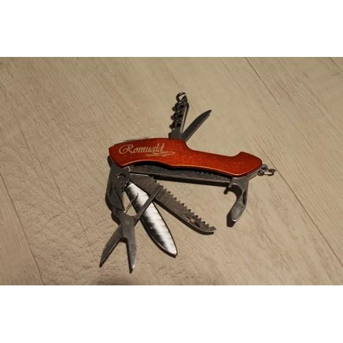 Couteau multifonctions métal